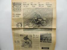 July 21 1965 Motorcycle News Newspaper Honda Yamaha Six Day Trial Norton L11454
