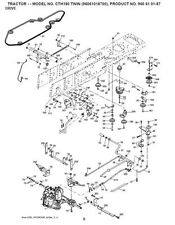 Husqvarna Transmission Drive Belt Kevlar Fit CTH150 CTH155 CTH170 CTH172 CTH220