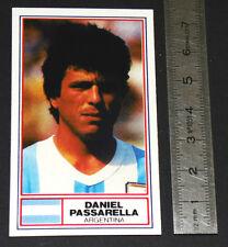 FOOTBALL 1983-1984 PASSARELLA ARGENTINA RIVER PLATE FIORENTINA INTER PANINI