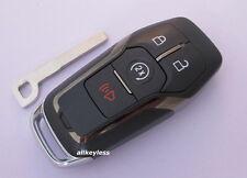 OEM LINCOLN smart proxy keyless entry remote fob transmitter +NEW KEY INSERT