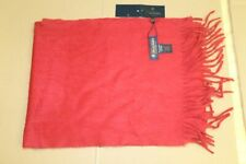 Brooks Brothers 100% Cashmere Red Scarf