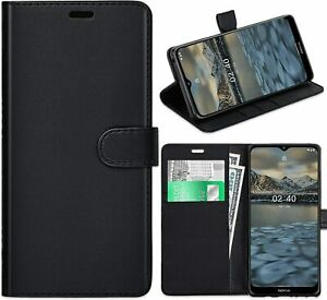 New Nokia 2.4 Case 3.4 Case PU Leather Wallet Flip Book Stand Cover Card Holder