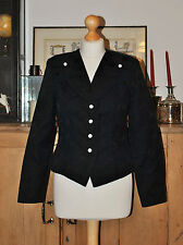 LADIES DESIGNER MELANIE BAKER  LONDON NAVY TAILORED  FORMAL JACKET SIZE???