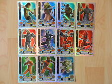 Star Wars Topps Force Attax Trading Card 2012 Glitzer 10 Force Meister + 1 Limi.