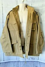 Rothco M-65 Field Jacket Coat Khaki Brown Size XL Fleece Lined 4 Pocket New