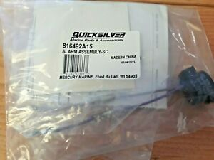 Mercury Quicksilver Boat Alarm Kit 816492A15 | Audio Warning