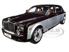 Rolls Royce Phantom Extended Wheelbase Red & Silver 1/18 Model Kyosho 08841 DRB