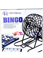 Complete Bingo Game Set, Rotary Cage With Automatic Bingo Set