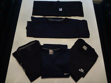 5 Mens Nike Champion Russell Mesh Athletic Sport Jersey Shirts Blue Black Large