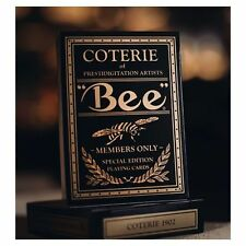 Bee Gold Magic Rare Limited Custom Playing Cards Artists Private Members Club  #
