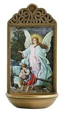 "Guardian Angel 6"" Holy Water Font (YC915)"