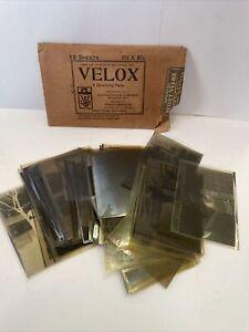 antique vintage velox negatives Eastman Kodak Company Rochester New York Photos