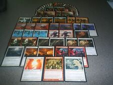 MTG Magic HUMAN DECK White Red Innistrad Avacyn Restored Hanweir Lancer Rare LOT