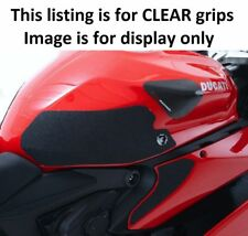 R&G Clear Tank Traction Grips for Ducati 899/959/1199/1299 Panigale