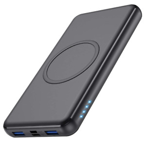Anker Wireless Power Bank, PowerCore 26,800mAh Portable Charger with USB-C Input
