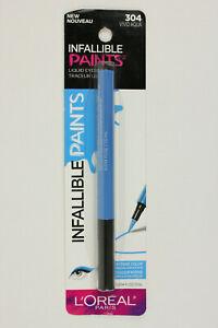 L'Oreal Paris Infallible Paints Liquid Eyeliner 304 Vivid Aqua Eye Makeup
