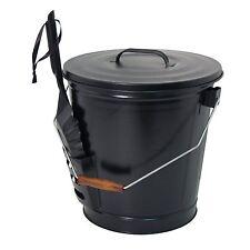 Panacea 15343 Ash Bucket with Shovel, Black, New, Free Shipping