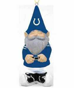 NEW NFL INDIANAPOLIS COLTS Gnome Christmas Ornament Christmas Tree Decoration
