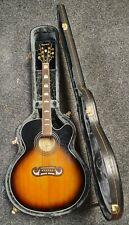 Epiphone EJ-200SCE Jumbo Acoustic Guitar - Vintage Sunburst - Fast Post!