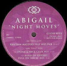 ABIGAIL - Night Moves (Rhythm Masters Rmx) - Pulse-8