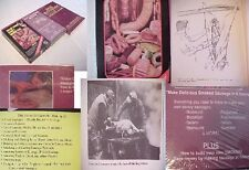 BOOK+2VHS:BUTCHERING HOG POULTRY SAUSAGE MAKING MEAT COOK RECIPE/italian polish+