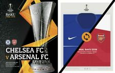 Arsenal v Chelsea - UEFA Europa League Final - 29 May 2019 - Bonus Shirt Poster.