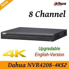 Dahua NVR4208-4KS2 8 channel 4K HD NVR Network Video Recorder P2P 2 SATA HDDs
