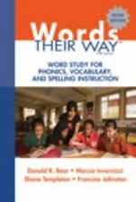 Words Their Way: Word Study for Phonics, Vocabulary... 5th silver edition
