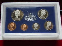 Australia.  1972  PROOF SET - withCertificate & foams (dated)