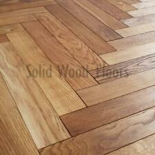 Naturel Brossé & huilé 10 mm Herringbone Engineered Oak Wood Flooring