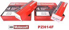 SET OF 10 MOTORCRAFT SPARK PLUG SP515/SP546 PZK14F PZT14F NEW!