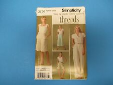 Vintage Sewing Pattern Simplicity 3756 Size BB 20W-28W Womens Pants Shorts S686