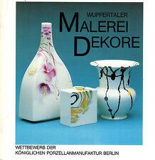 Siemen, Wuppertaler Malerei-Dekor für KPM Porzellan Manufaktur, Porzellanmalerei