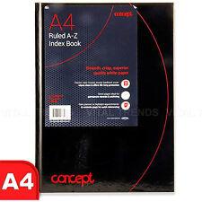 A4 dirección indexada portátil gobernado Tapa Dura/Oficina/teléfono portátil índice alfabético