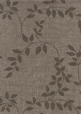 """Wachstuch Tischdecke """"Linette braun leaf"""" in 1,4m Breite Meterware"""