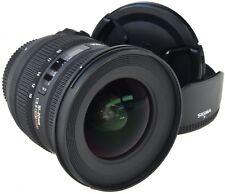 Nikon Sigma ex 10-20 mm 3.5 HSM EX DC === como nuevo ===