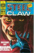 Steel Claw # 4 (of 4) (Jesús Blasco, 52 pages) (Quality Comics EE. UU, 1987)