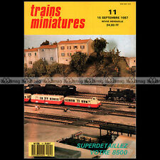 TRAINS MINIATURES N°11 BB 8500 LIMA 16022 CEVENOL TENDER 34-P CC 14019 ROSKOPF