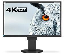 NEC EA244UHD 24 inch 4K UHD Widescreen IPS LED Monitor HDMI DVI USB DisplayPort