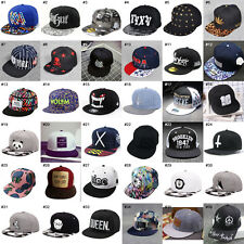 Unisex Men Womens Snapback Adjustable Baseball Cap Hip-Hop Hat Cool Bboy Hats a*