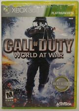 Call of Duty: World at War -- Platinum Hits (Microsoft Xbox 360, 2010) CD&Case