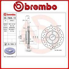 09.7806.1X#57 DISCO FRENO ANTERIORE SPORTIVO BREMBO XTRA FORD FUSION (JU_) 1.6 7