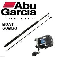 Abu Garcia Boat Rod Combo With  ls3000 multiplier reel