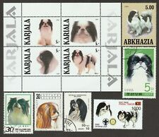 Japanese Chin * Int'l Dog Stamp Collection* Great Gift Idea*