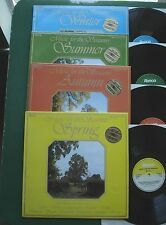 Musique pour les saisons Strauss Rossini Mozart Beethoven + RTL 2075 ABCD // LP X 4