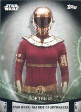 2020 Women Of Star Wars Black Parallel Card 100 Zorii Bliss 3/5 Keri Russell NEW