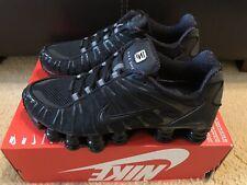 NIKE SHOX TL Men's Size 8 Women's 9.5 Triple Black BV1127 001 NOBOXTOP