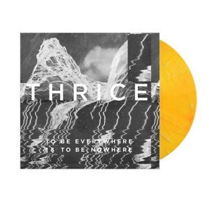 Thrice To Be Everywhere Is To Be Nowhere Exclusive Yellow Vinyl LP