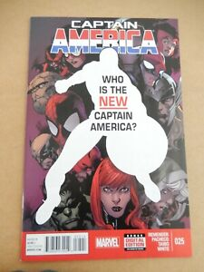 Captain America #25 1st Falcon as Captain America 1st Print Winter Soldier NM
