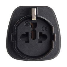 AU Plug Power Converter Socket Connector Travel Adapter to Schuko EU US Black